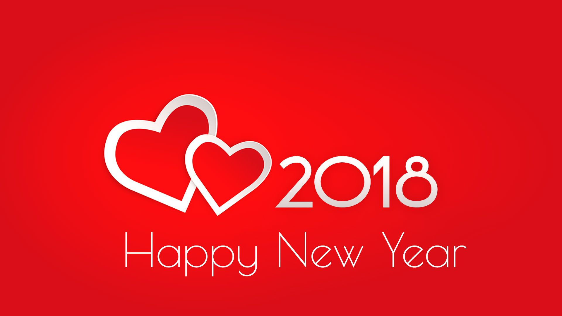 most loving and beautiful happy new year 2018 wallpaper for lover or