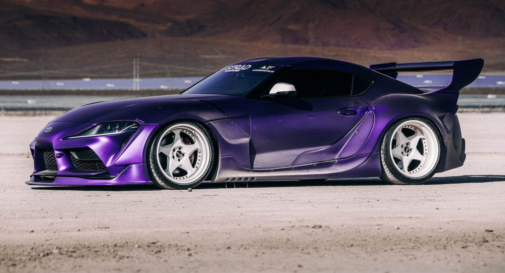 Photo of Very Wide, Very Purple 2020 Toyota GR Supra Is An Attention Seeker | Carscoops