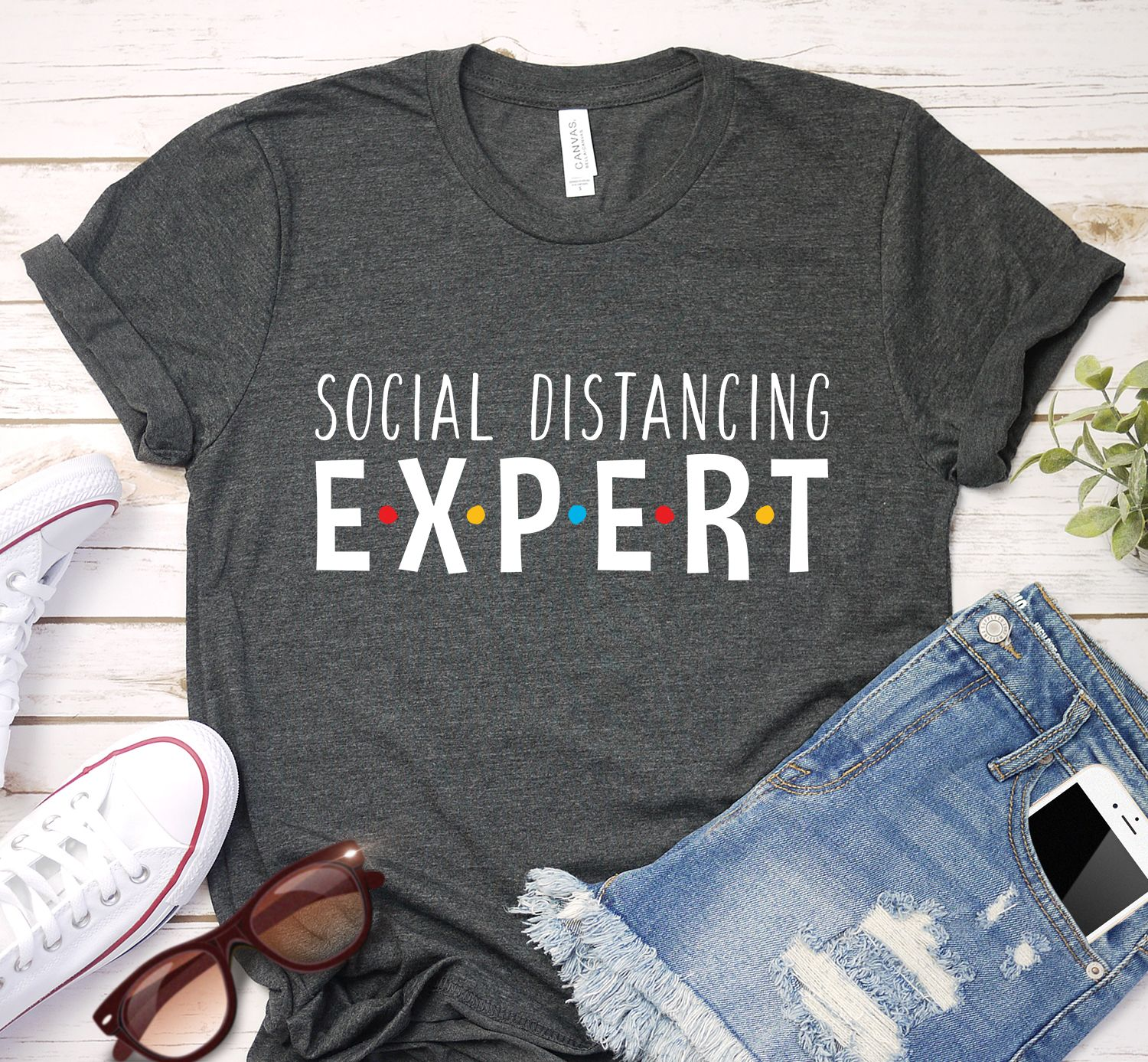 Social Distancing Expert Shirt in 2020 Love shirt