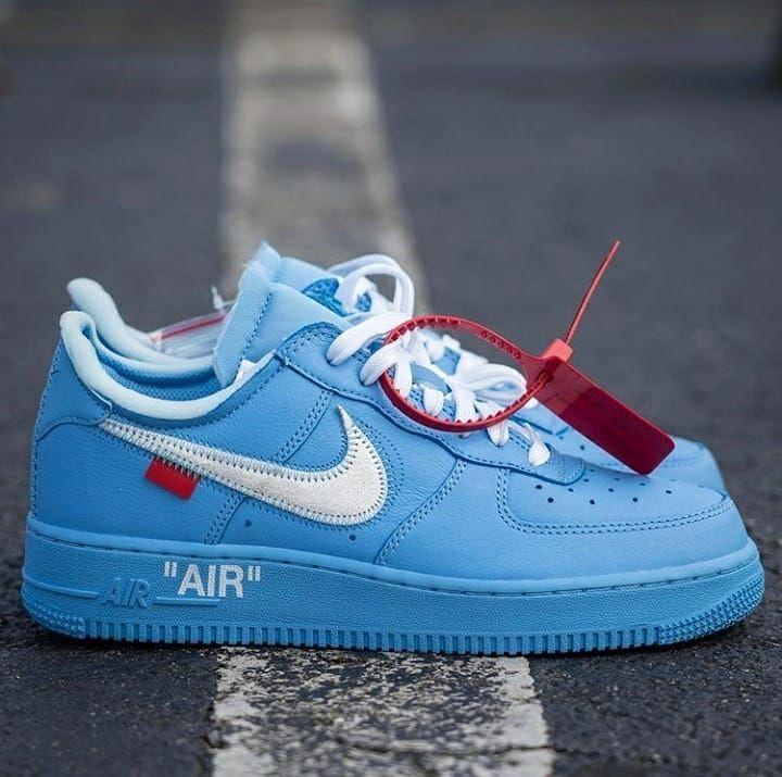 Air Force 1 Low Off White MCA University Blue, Men's Fashion