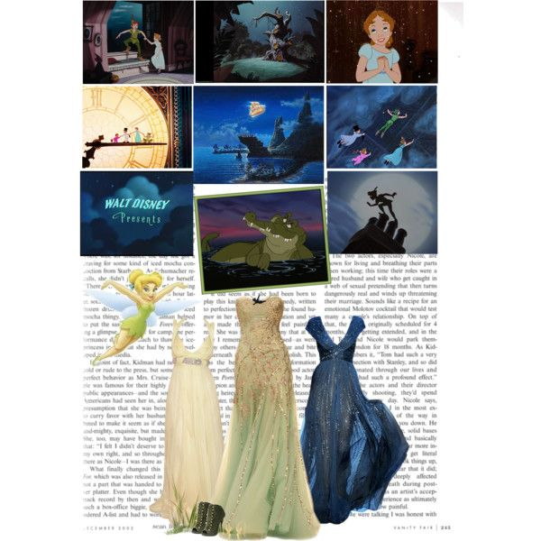 favourite childhood movies challenge - 03. Peter Pan. by the-running-verb on Polyvore featuring Giuseppe Zanotti, Dar and Disney