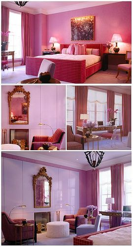 Purple Interior Design Purple Bedroom Design Interior Design
