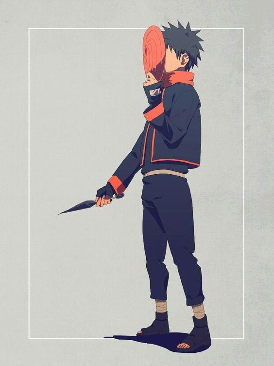 Uchiha Obito Obito, Personajes de naruto, Naruto kakashi