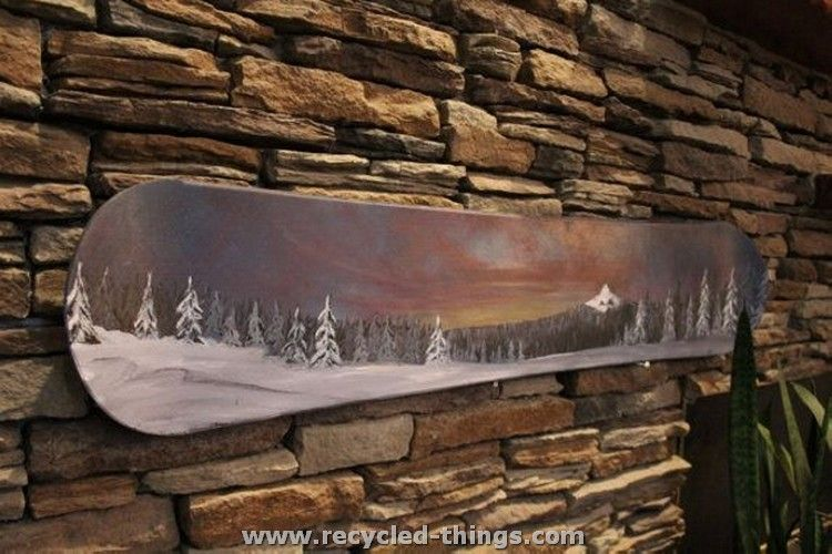 Snowboard Wall Art | Decos and diys in 2018 | Pinterest | Walls ...