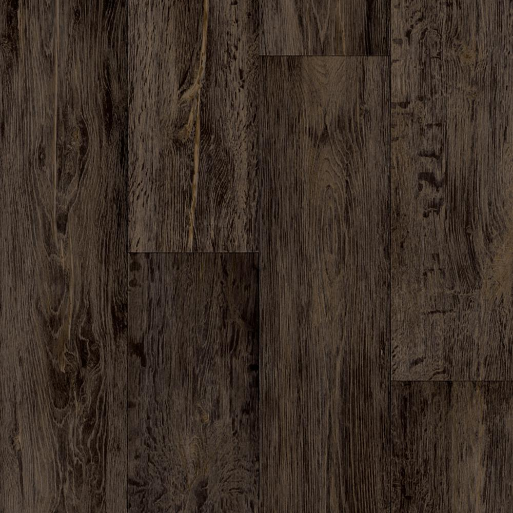Trafficmaster Barnwood Oak Dark Brown 13 2 Ft Wide Residential Vinyl Sheet C9470185k848p15 The Home Depot Vinyl Sheet Flooring Flooring Vinyl Flooring