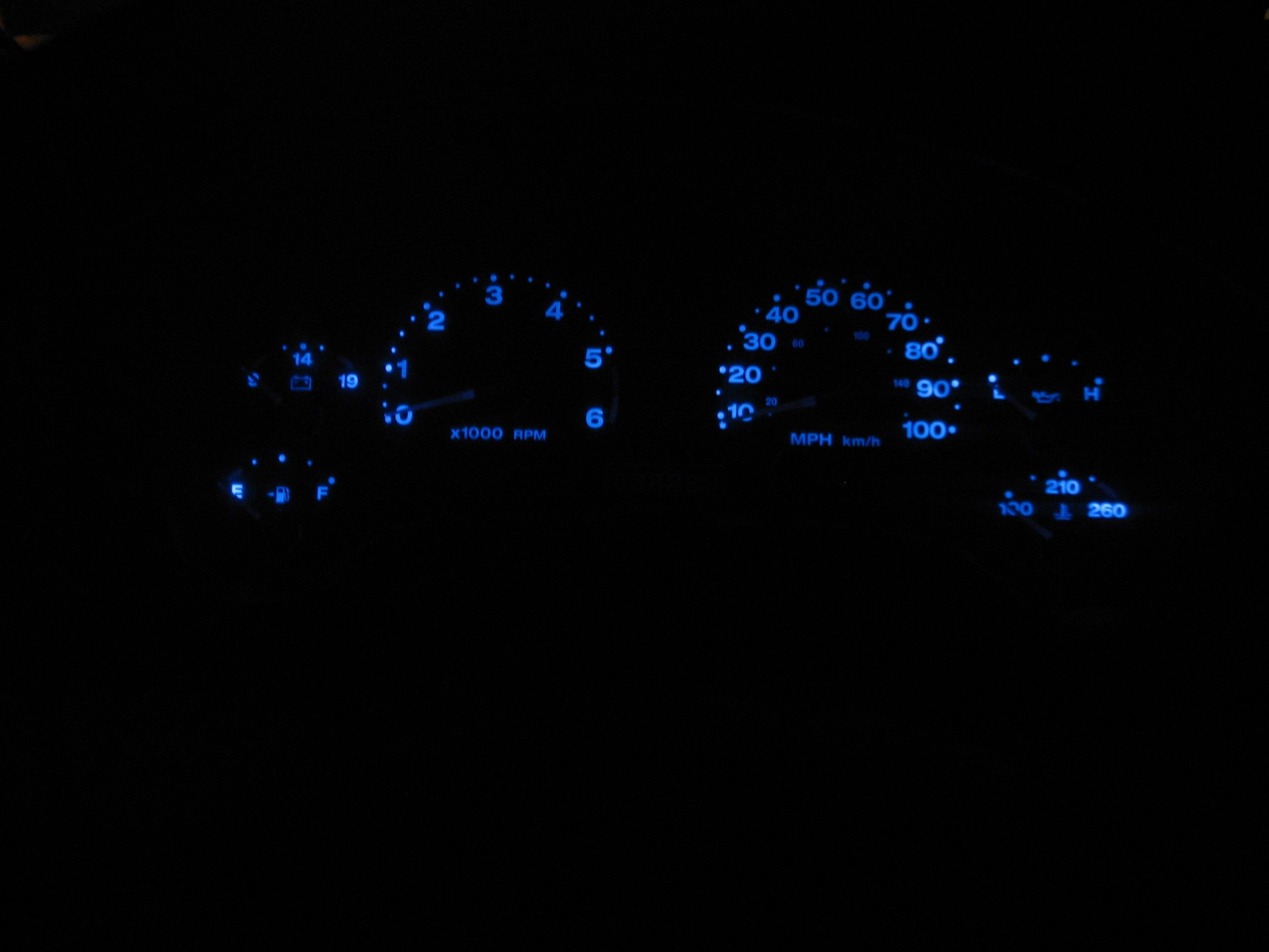 Tj Dash Lights Mod Easy And Cheap Jeep Wrangler Forum Jeep
