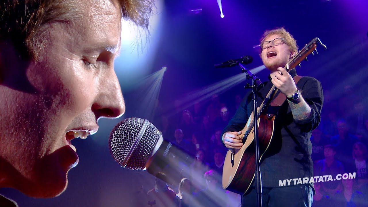 Ed Sheeran James Blunt Sacrifice Elton John 2017 James Blunt Ed Sheeran Music Video Ed Sheeran
