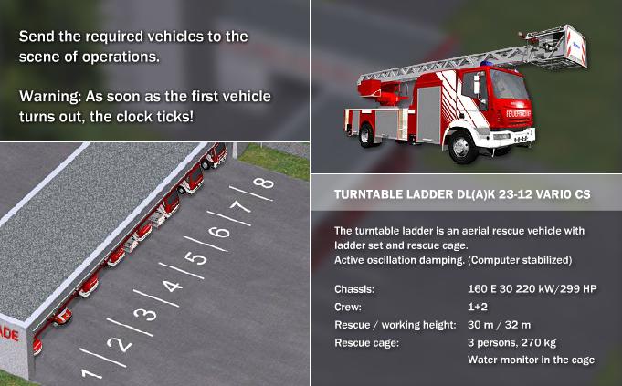 Iveco Magirus Fire Trucks - #FireTruckCarRacing