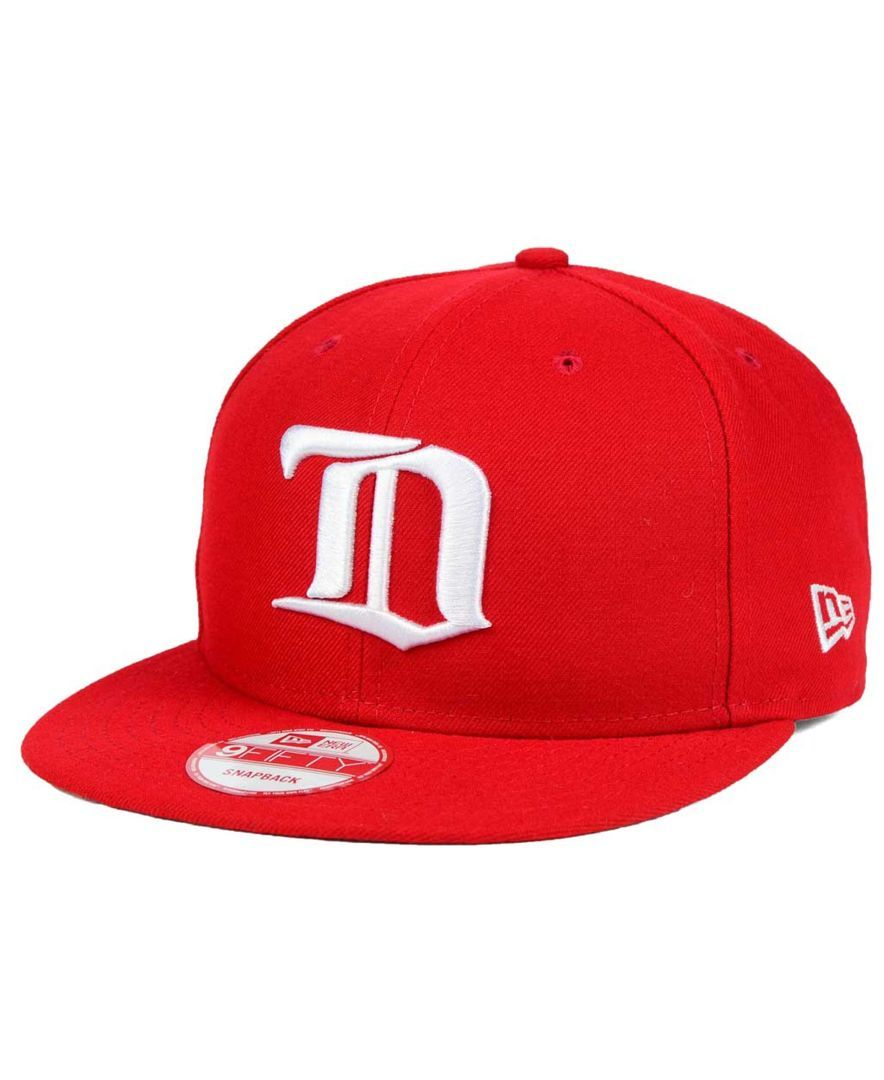 outlet store c5df3 379de New Era Detroit Red Wings All Day 9FIFTY Snapback Cap