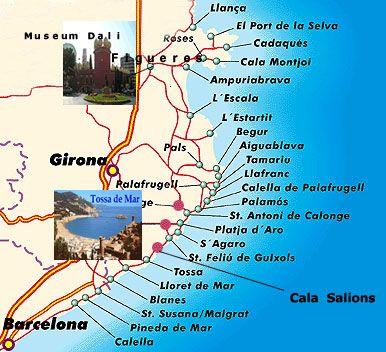 Vakantie Aan De Costa Brava Tips Gids Vakantie Reizen En Kaarten