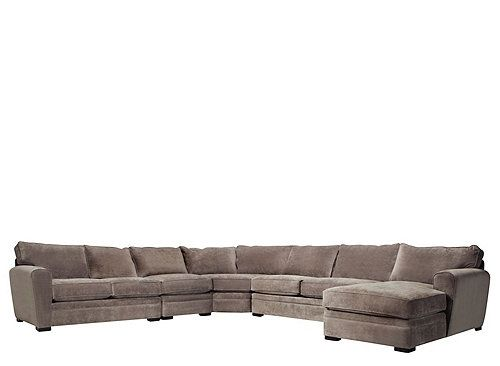 Best Artemis Ii 5 Pc Microfiber Sectional Sofa Sectional 400 x 300