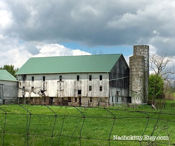 1850s Amish Built Barn 90 x 40 Oak Wood Full by Nachokitty
