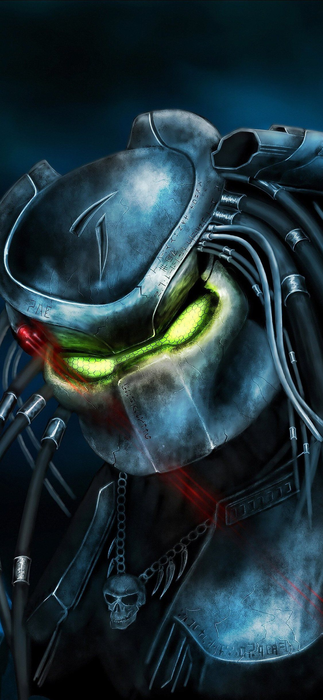 The Predator Artwork Iphone X Artwork, Predator, Iphone