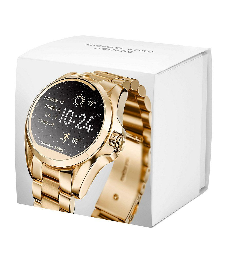 6f57ba9f61 Michael Kors Access Bradshaw Bracelet Smart Watch | Arm candy & get ...