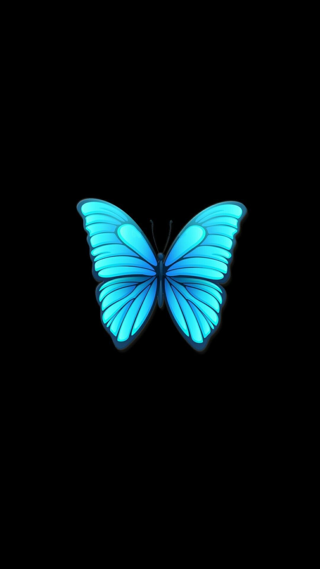 Beautiful Butterfly Wallpaper Black In 2020 With Images