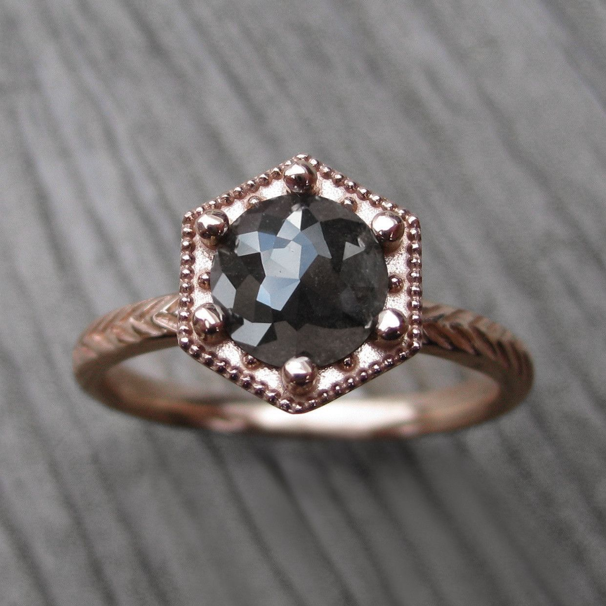pave kristin blue jewelry ring engagement coffin ps mod shank lighter rings v gray grey products moissanite less camille center band diamond wedding icon