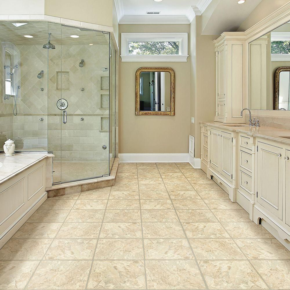 TrafficMASTER Allure 12 in. x 36 in. Sedona Luxury Vinyl Tile ...