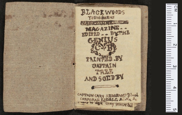 Miniature Books - Brontë Brothers