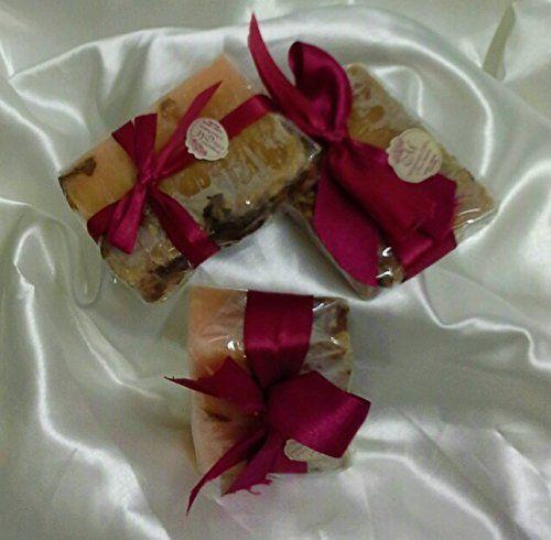 Conjunto 3 piezas hechas a mano jabones.
