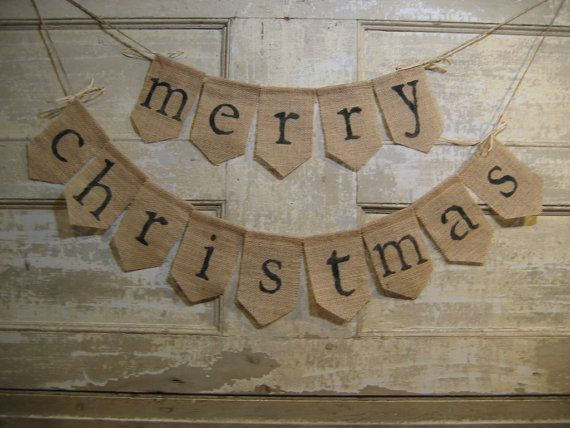 Ready To Ship Merry Christmas Banner By IchabodsImagination 2500