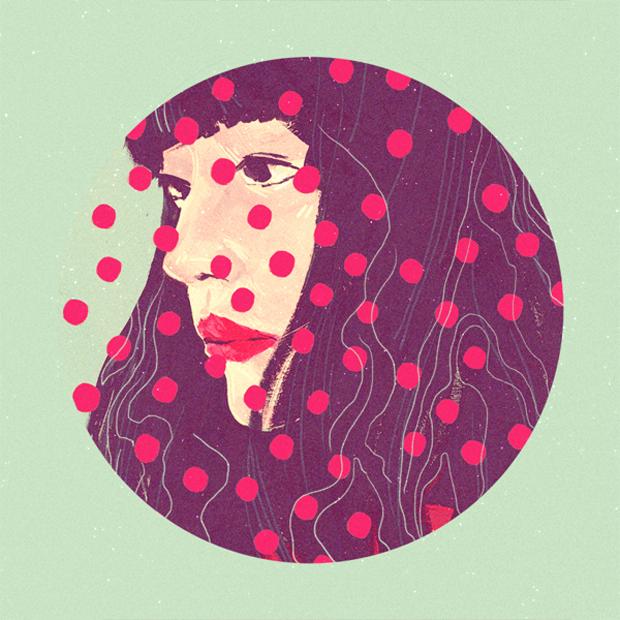 Sarah Go todavía está estudiando y ya hace estas ilustraciones.