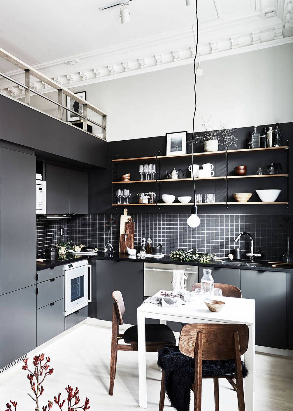 Beautiful duplex home via coco lapine design interieurcuisine