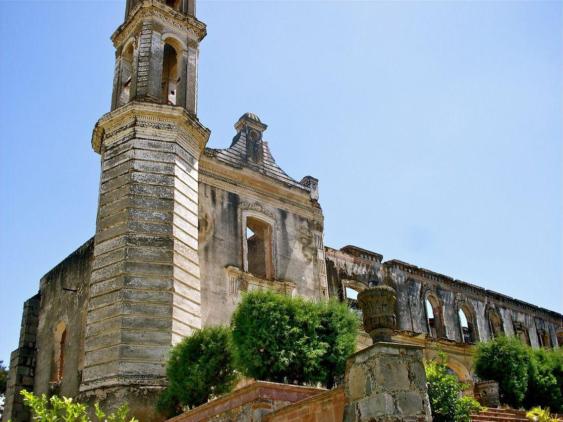 Vista de una iglesia en Acámbaro