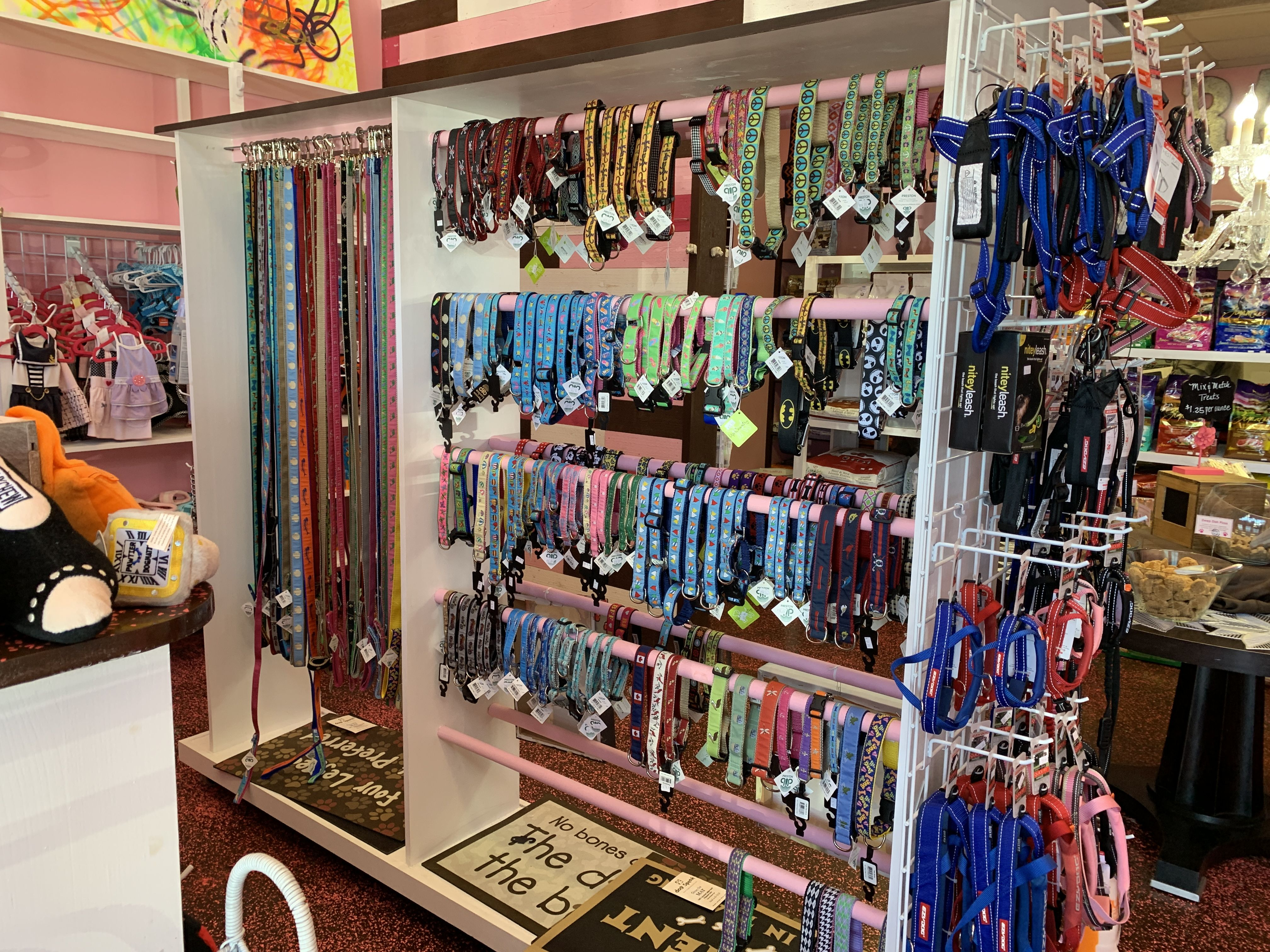 Woof Gang Bakery Jacksonville, FL have the accessories that gets those tails wagging!! Home
