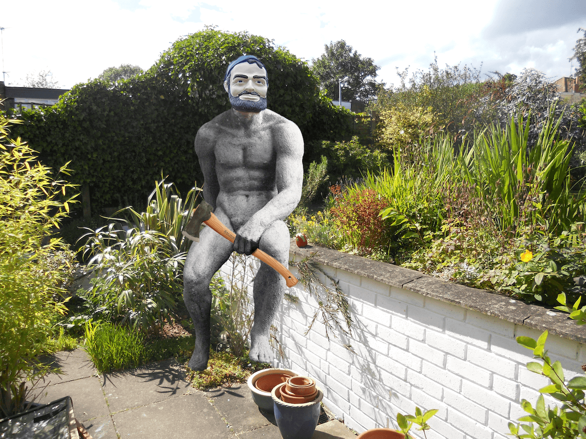 The 13th annual WORLD NAKED GARDENING DAY is coming up
