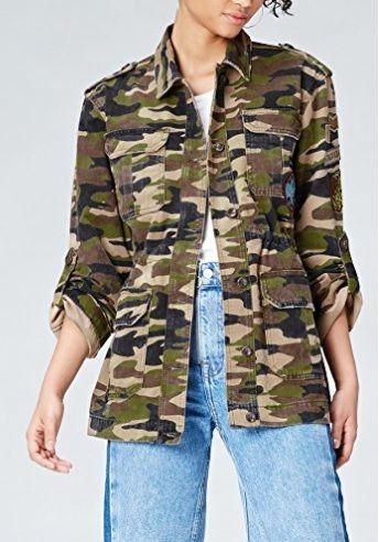 fotos oficiales fc249 90a9a Chaqueta militar #amazon #moda #mujer #outfits ...