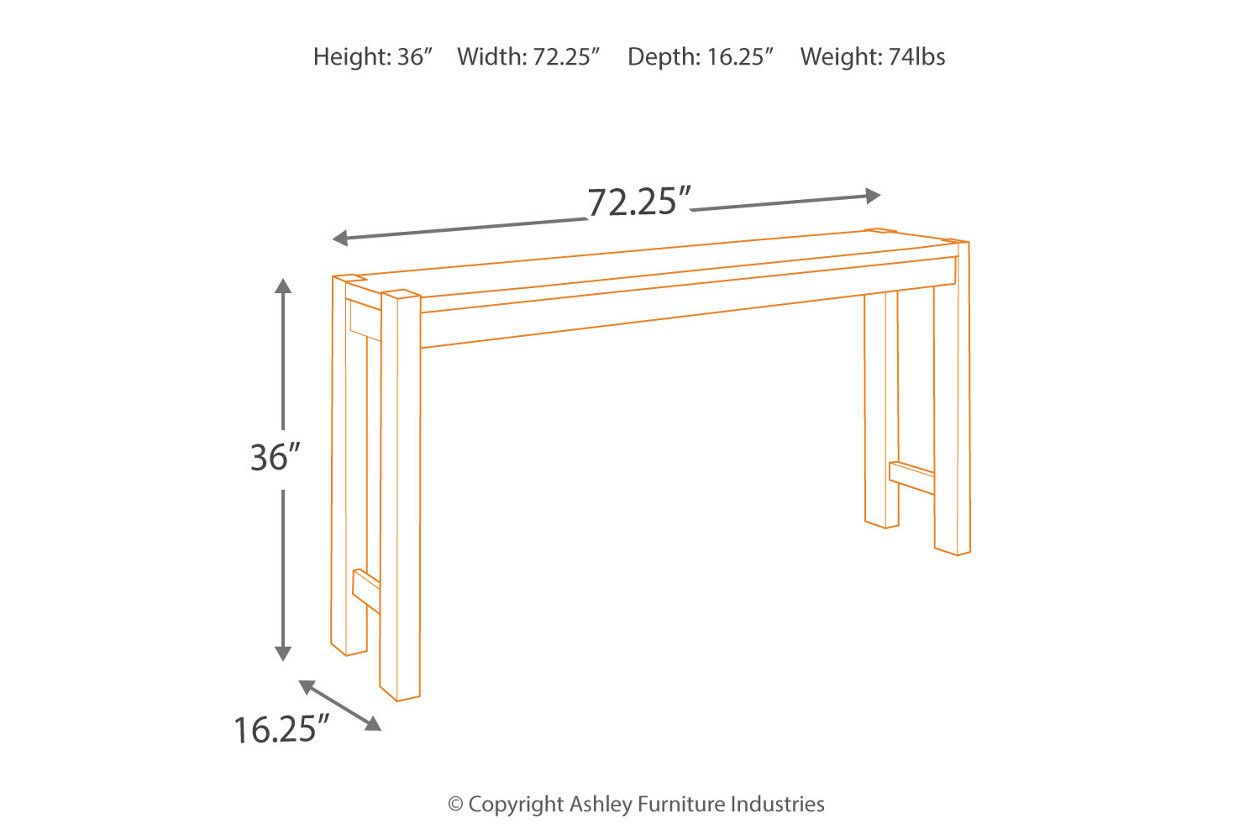 Torjin Counter Height Dining Room Table Ashley Furniture