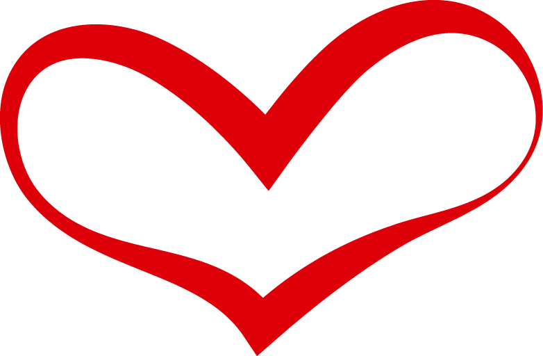 Red Heart Outline Heart Red Heart Shape Png Transparent Clipart Image And Psd File For Free Download Heart Outline Heart Outline Png Heart Hands Drawing