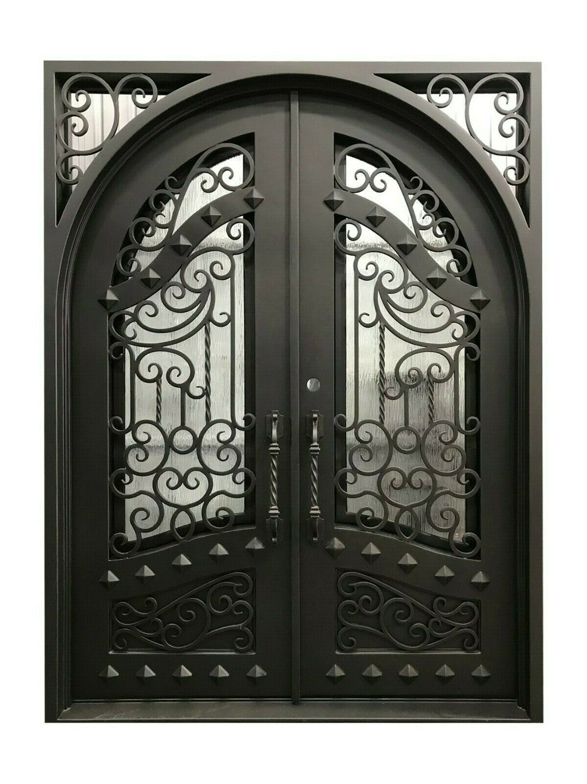 Iron Entry Door In 2020 Wrought Iron Doors Iron Doors Entry Doors
