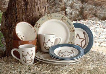 Montana Silversmith 16-piece Andiron Dinnerware Set   Kitchen ...