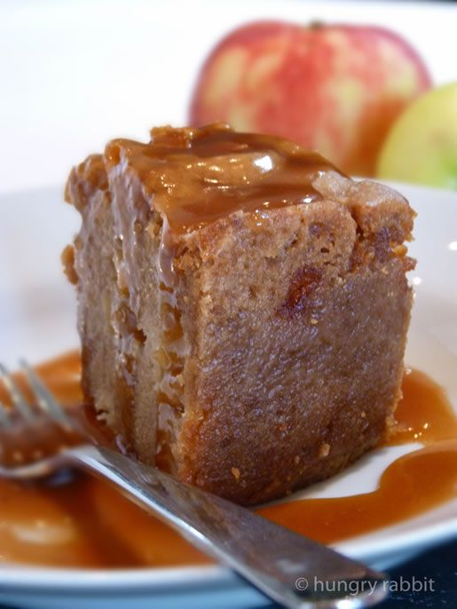 Hungry Rabbit- Toffee Apple Cake
