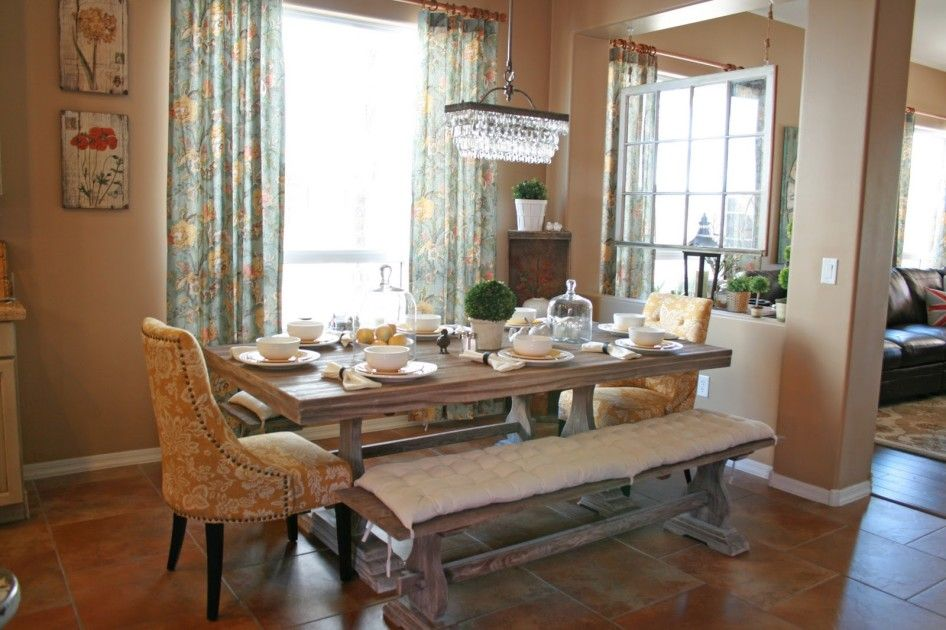 Dining Room With Couch Seating