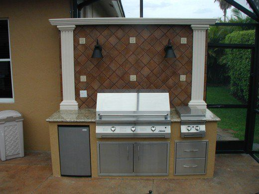 Brinkmann Built In Barbecue Grills For The Custom Outdoor ...