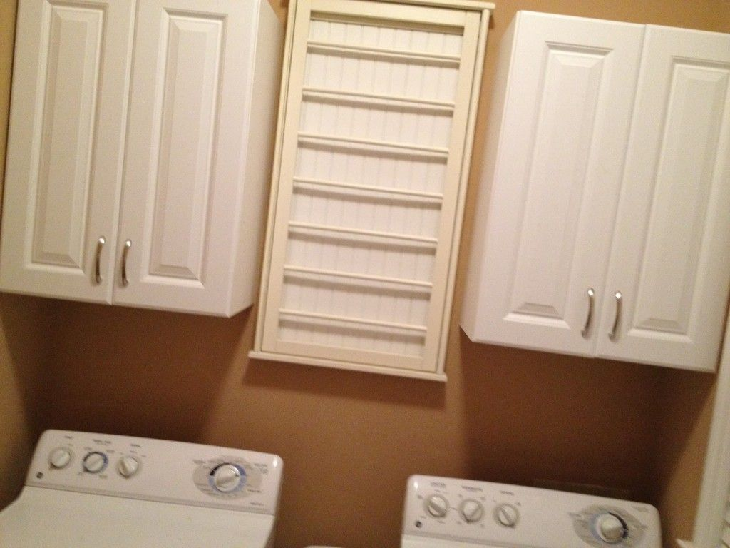 Whole Cabinets Laundry Room Cabinetry Charming Chrome Wall Mount Ikea Drying Rack With Rails And Furniture Interior Great Stainless Steel