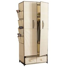 Portable Closet For A Cabin Yurt Or Tiny Home Portable Closet Portable Wardrobe Wardrobe Drawers