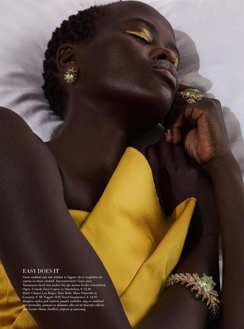 Photo of Ola & Naro Are Sleeping Beauties in Harper's Bazaar Netherlands – Ola Rudnick… – New Ideas