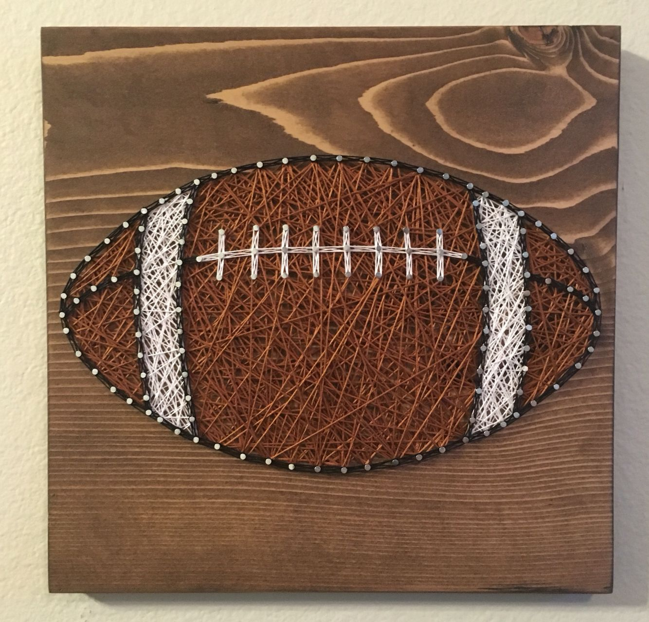 Football String Art order from KiwiStrings on