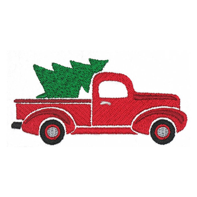 Red Truck Christmas Tree Machine Embroidery Instant Download Etsy In 2020 Machine Embroidery Designs Projects Machine Embroidery Designs Christmas Christmas Embroidery Designs