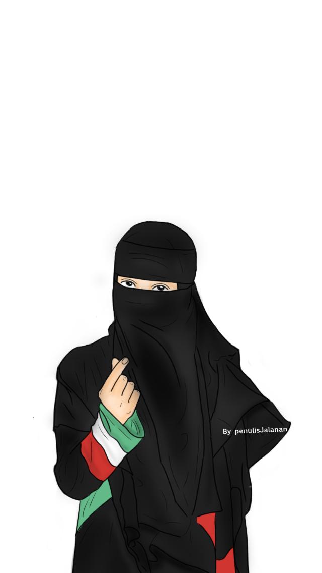 Pin oleh Doodle penulisjalanan di Doodle niqabis Kartun