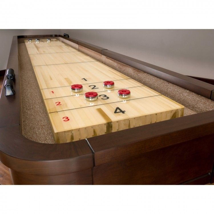 225 & Details about Shuffleboard Table 14 ft Game Room Table ...