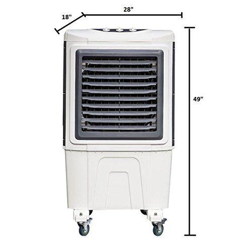 Breeze Air 3000 Cfm 3 Speed Mobile Evaporative Air Cooler Air Cooler Evaporative Air Cooler Air Conditioning Maintenance