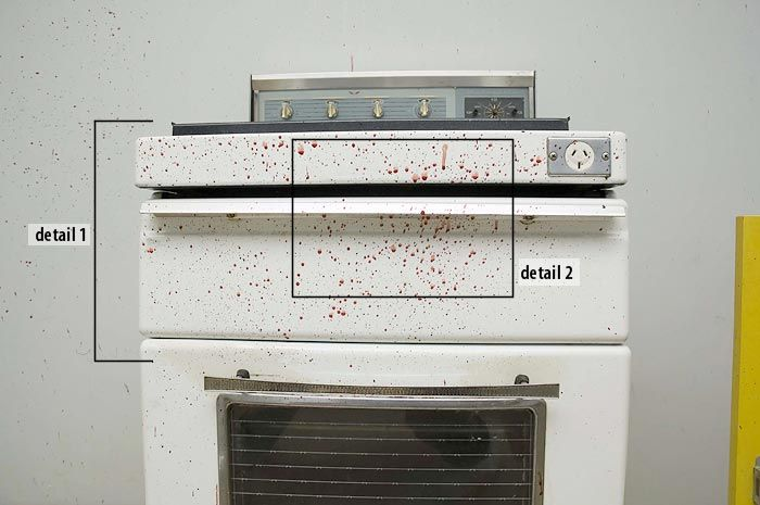 Blood Spatter Pics For Lab Forensic Science Pinterest