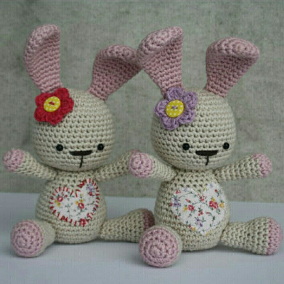 Funny Bunny - A little heart bunny, free pattern by lilleliis ...