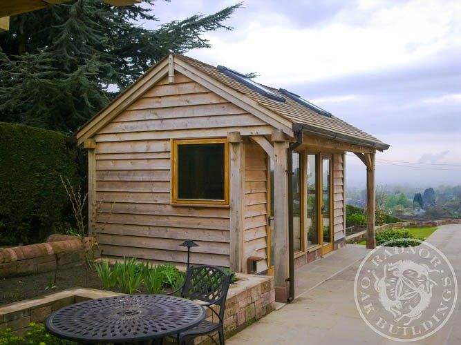 radnor oak home office framed annex garden room in the o