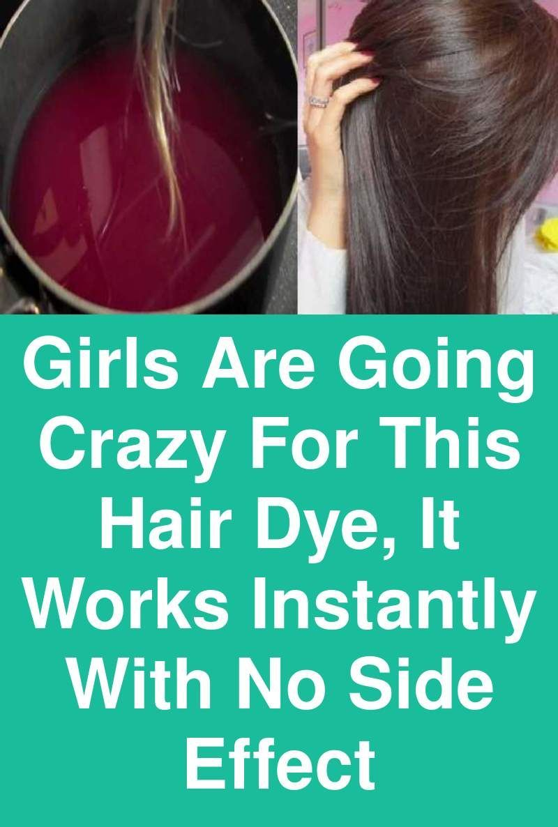 Girls Are Going Crazy For This Hair Dye It Works Instantly With No Side Effect Haircolor Hairdye Instanthaircolorin Diy Hair Dye Dyed Hair Diy Hair Color