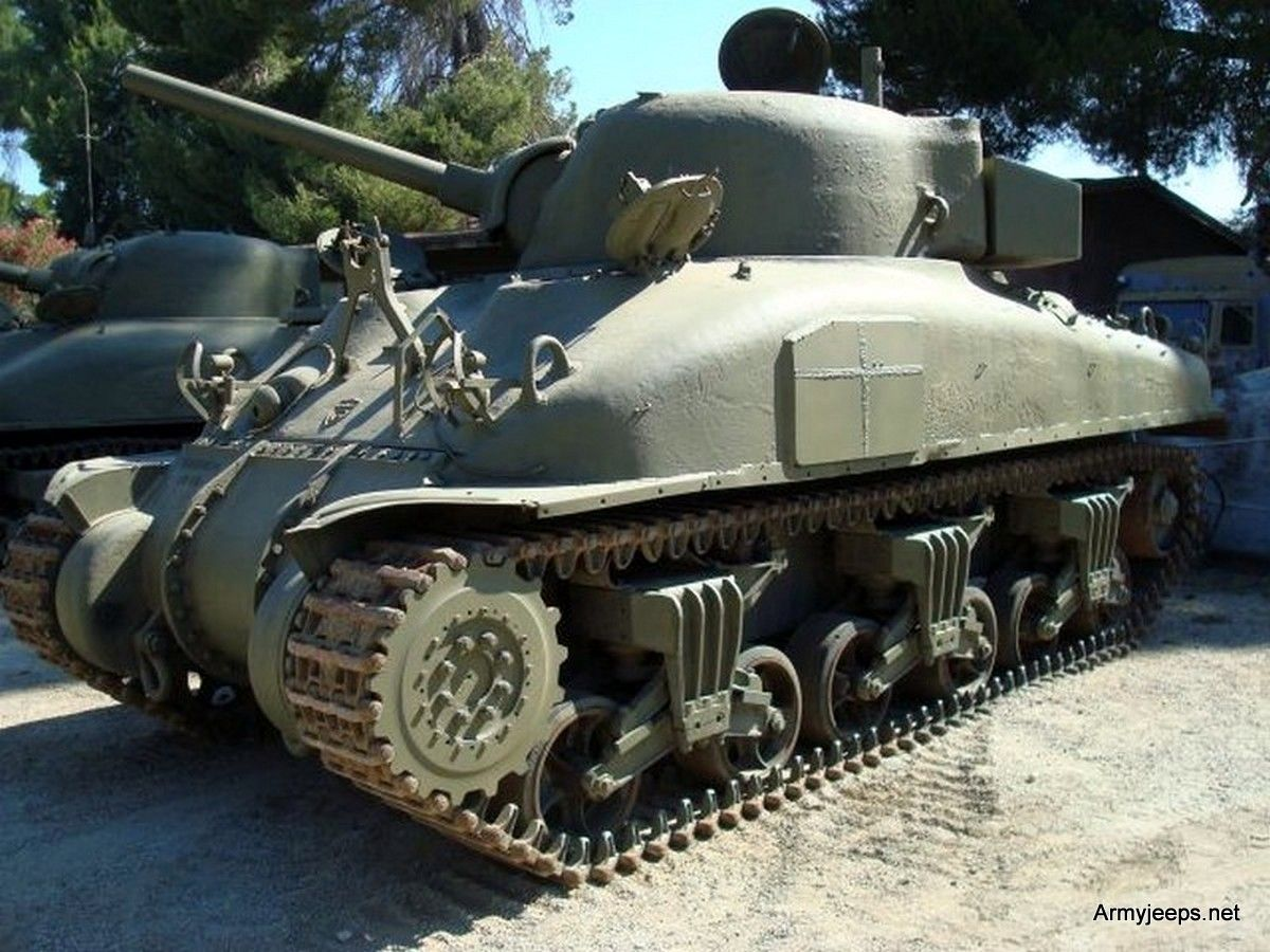 Surprise your wife buy a sherman tank only 275k dollar http